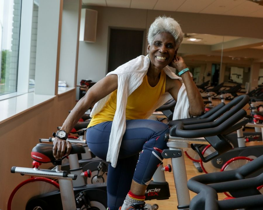 Pat Fuller, 77, of Naperville is one of 10 finalists nationwide for the annual Swanson Inspiration Award from SilverSneakers, a senior fitness program offered through some insurance plans.