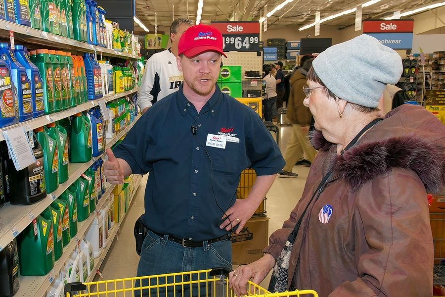 """Many of our customers like to say that if Blain's Farm & Fleet doesn't carry it, they don't need it,"" said Blain's Farm & Fleet spokeswoman Nicole Kilmer."