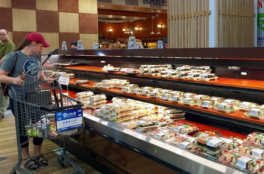 Mitsuwa Marketplace opens after a remodeling in Arlington Heights with a new area for takeout food like sushi.