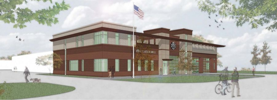 The Huntley Fire Protection District will soon build a new headquarters to house all its administrative offices, a fire station and maintenance facility at 11118 Main St. The district's existing Station 1/headquarters at 11808 Coral St., will be sold upon completion of work on the Main Street property.