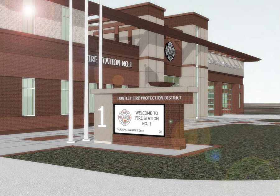 Work on an addition and site renovations to the Huntley Fire Protection District's property at 11118 Main St. is set to begin soon. The building currently houses the district's administrative offices and maintenance facility. The roughly $10 million project will transform it into the district's new headquarters.