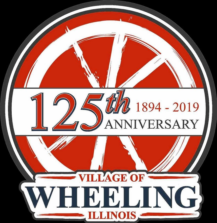 Logo for Wheeling's 125th anniversary