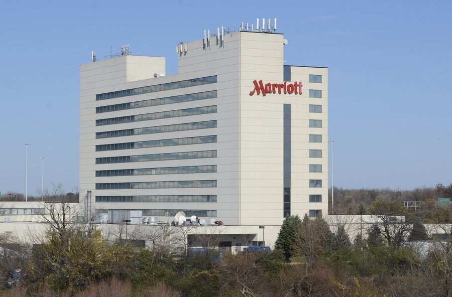 The Chicago Marriott Schaumburg at 50 N. Martingale Road in Schaumburg is undergoing a $22 million renovation expected to be completed in August.