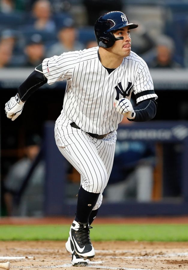 Mike Tauchman, a former two-sport star at Fremd High School, decided to stick with baseball and drop football. The 28-year-old outfielder played for the Rockies in 2017-18 and is now with the Yankees.