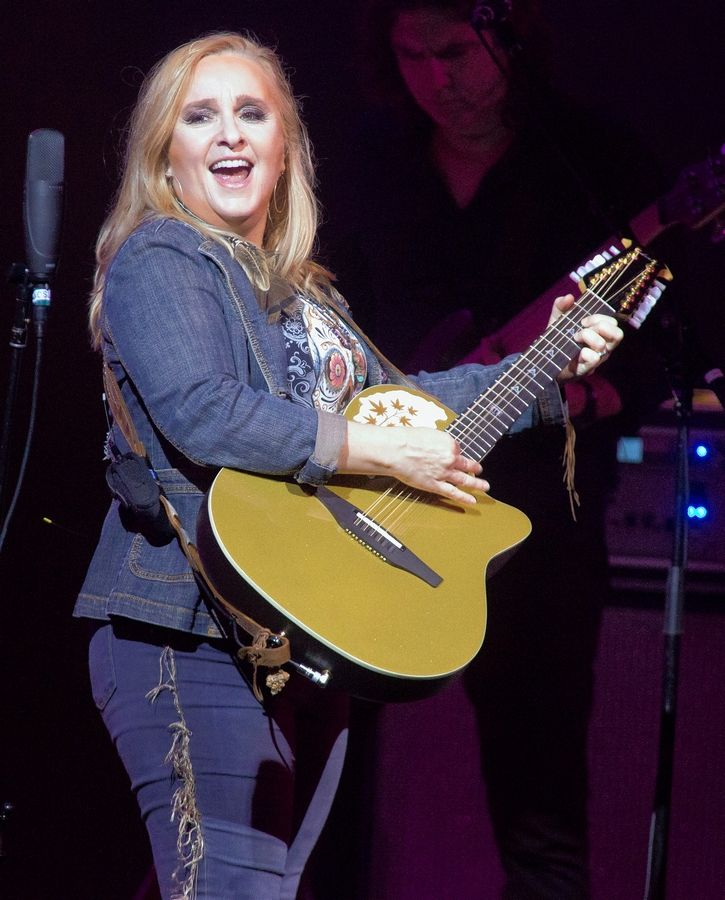 Melissa Etheridge shares a concert bill with George Thorogood & The Destroyers at the Ravinia Festival in Highland Park on Sunday, June 23.