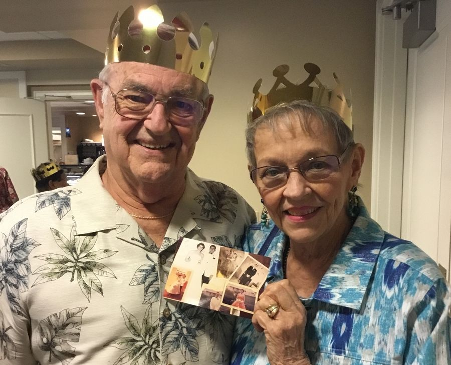High school sweethearts Judie and Bob Knott got to attend their fourth prom together after participating in GreenFields of Geneva spring prom. A few weeks later, Geneva High School prom-goers stopped by Greenfields to pose for pre-prom pictures.