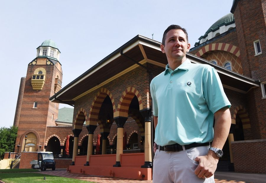 Vince Pellegrino, the senior VP of tournaments at the Western Golf Association, is running the BMW Championship at Medinah Country Club. The course will host the tournament Aug. 13-18.