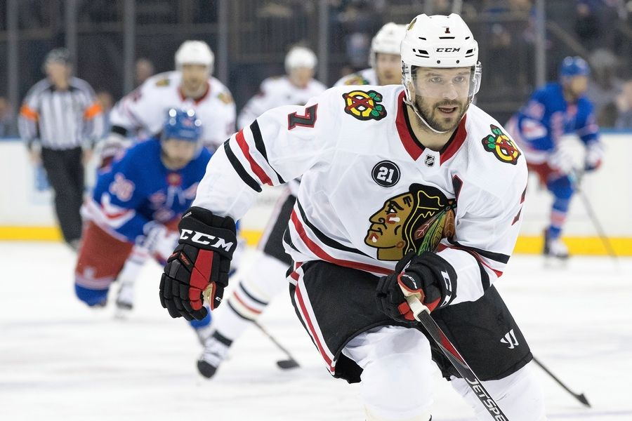 Chicago Blackhawks defenseman Brent Seabrook could be the key figure in the team's process of of continuing to improve what was a considerable weakness on the depth chart.