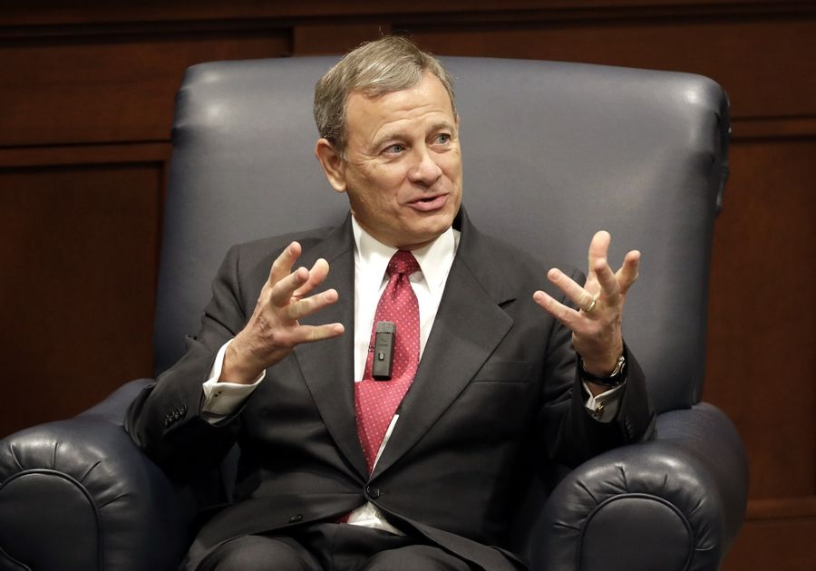 Chief Justice John Roberts sided with the majority in the Supreme Court's 5-4 ruling against intervening on partisan gerrymandering.
