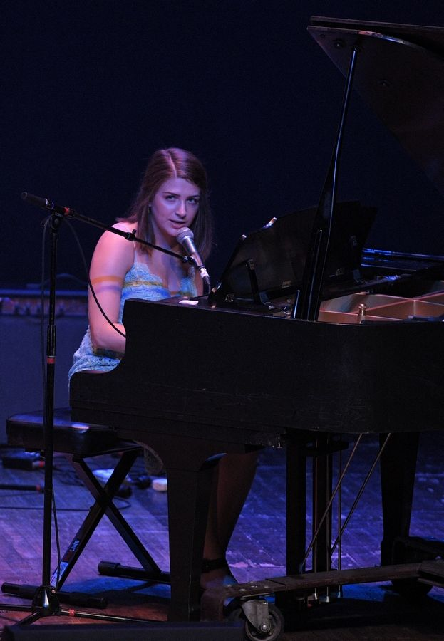 Shannon Nugent performs Sunday at the Arcada Theatre in St. Charles as part of the Suburban Chicago's Got Talent Top 20 show.
