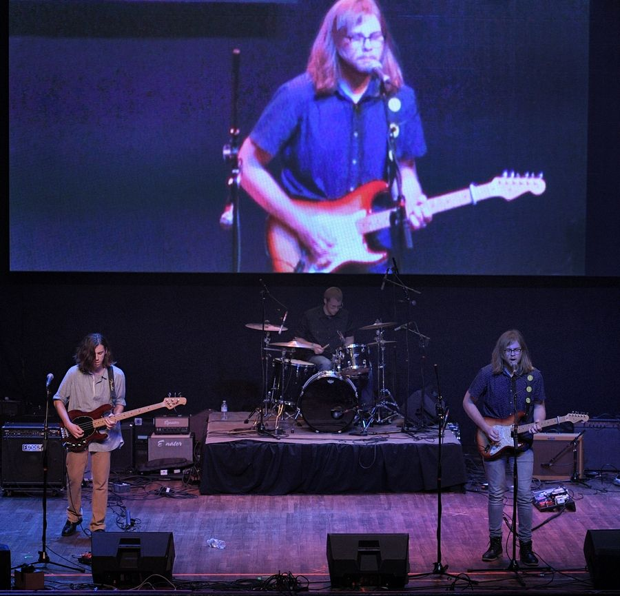 The band McCrae performs Sunday at the Arcada Theatre in St. Charles as part of the Suburban Chicago's Got Talent Top 20 show.