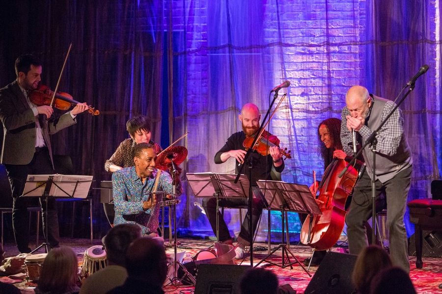 Corky Siegel's Chamber Blues will perform Chamber Music Fox's 2019-20 season finale in May.
