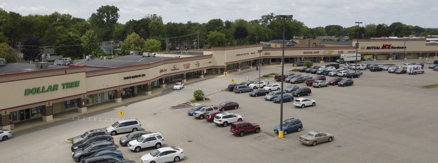 Palatine Plaza off Northwest Highway is marking its 60th anniversary.