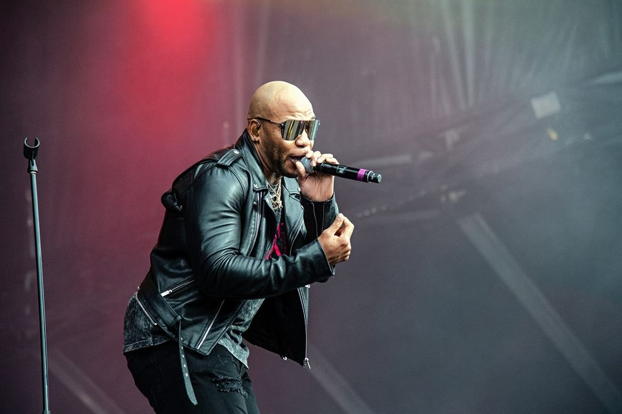 Flo Rida takes the stage at Naperville's Ribfest on Thursday, July 4.