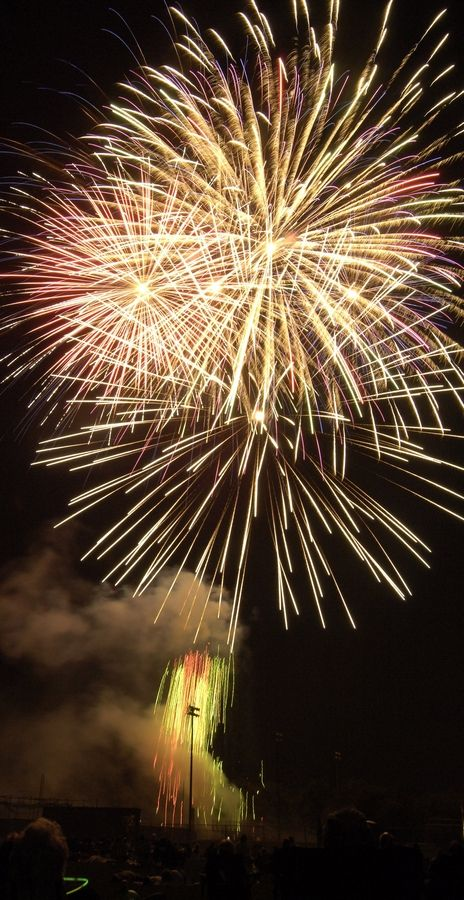 Elk Grove Village's Fourty of July fireworks will be on the holiday.