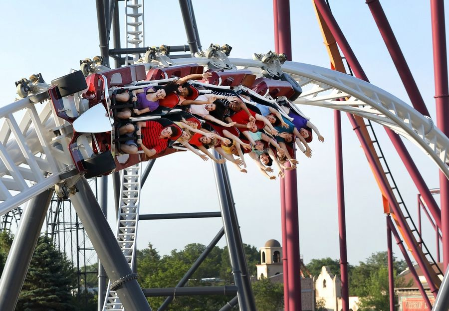 Maxx Force opens for Great America members Wednesday, to the public