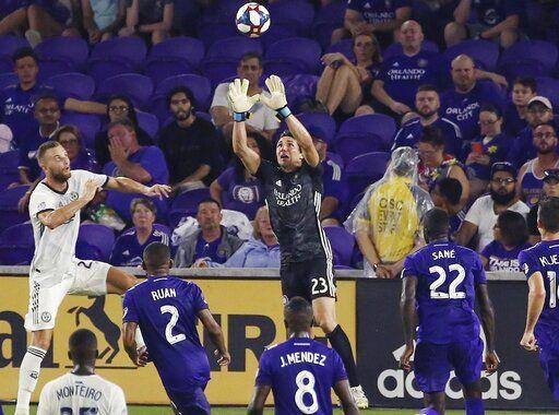 new products f9fab aca2e Przybylko scores 2 goals, Philly beats Orlando City 3-1