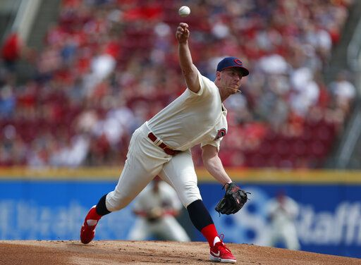 Anthony DeSclafani Cincinnati Reds 150th Anniversary Baseball Jersey - White