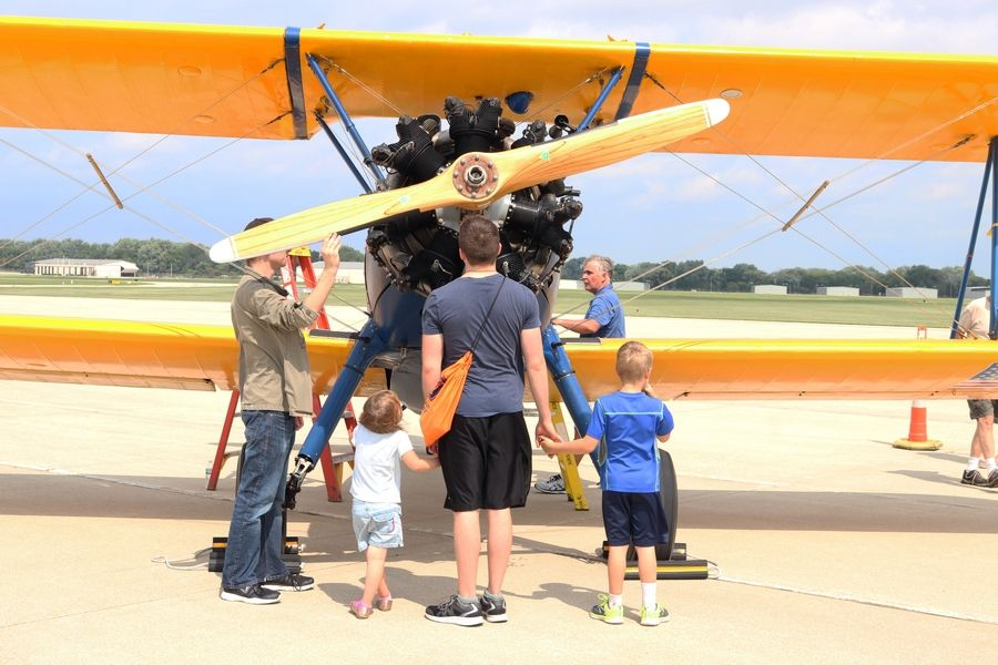 A variety of aircraft will be on display for West Chicago students and families at this year's Back-to-School Celebration Aug. 8 at the DuPage Airport.