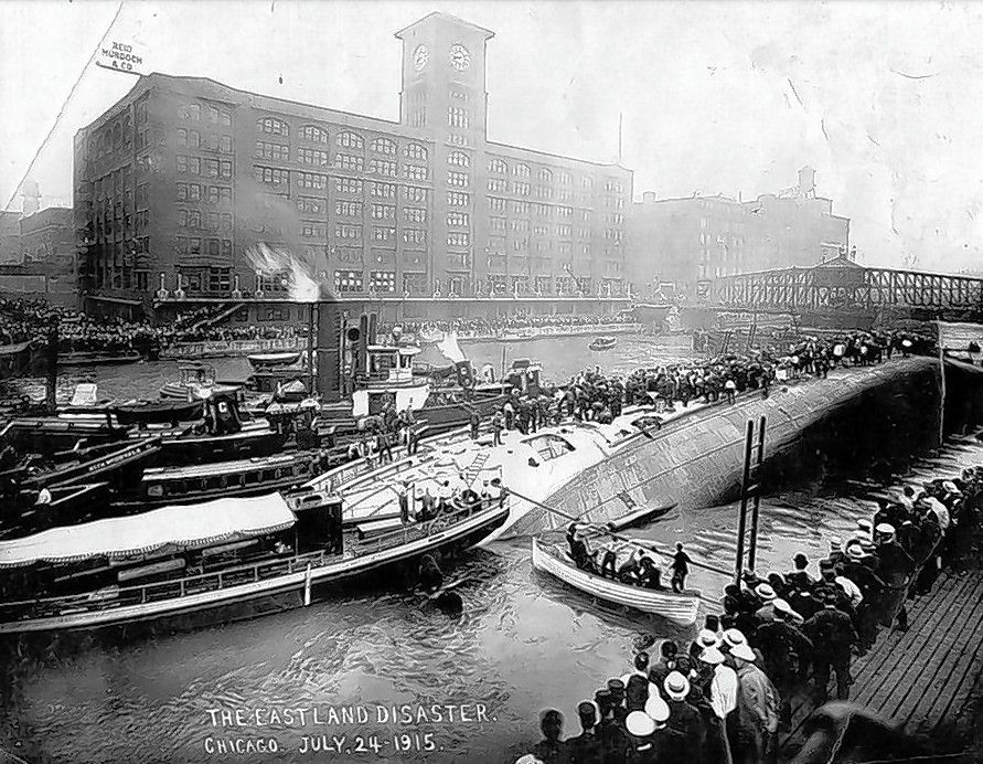 "One of the worst days in Chicago history is the subject of a great new documentary. ""Eastland: Chicago's Deadliest Day,"" produced and written by Harvey Moshman and Chuck Coppola, tells the tragic but little-known story of the steamship that capsized while docked at the Chicago River on July 24, 1915, killing 844 people onboard."