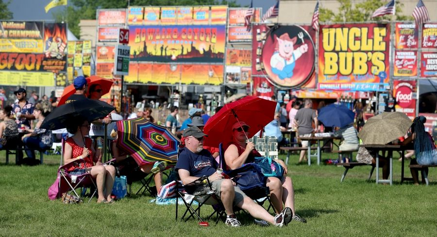 The grassy grounds of Knoch Park in Naperville no longer will be the site for the Exchange Club of Naperville's Ribfest, which must move to a new site in 2020, likely Romeoville.