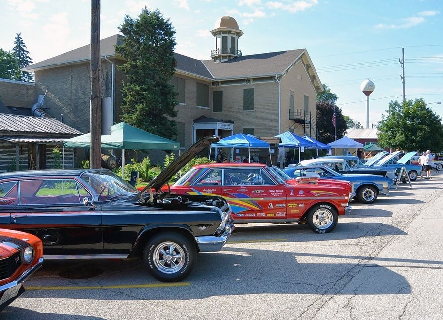 Vintage cars will be on display at the McHenry County Historical Society's Heritage Fair Sunday, July 14.