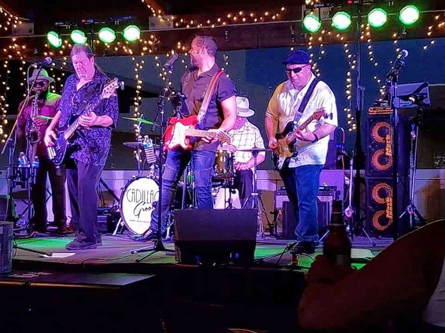 Batavia's River Rhapsody Concert Series will feature Cadillac Groove on Wednesday, July 17, at the Batavia Riverwalk.