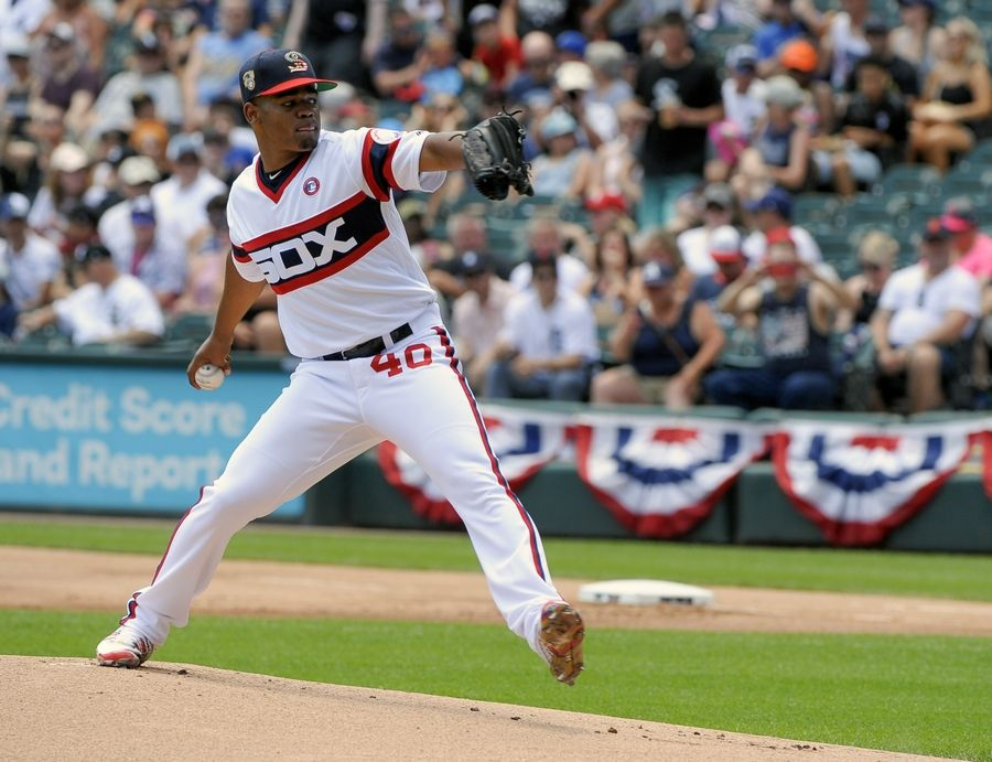 Chicago White Sox starting pitcher Reynaldo Lopez has the highest ERA (6.34) in baseball and needs to improve in the second half if he wants to keep his spot in the rotation.