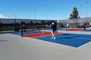 Naperville Park District opened four pickleball courts at Nike Sports Complex in October 2018, and now the courts are set to play host to the Chicago Pickleball Open, a new professional-level tournament beginning Wednesday with a ribbon-cutting ceremony, clinic and exhibition games.
