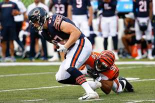 Chicago Bears tight end Adam Shaheen's health and success — or lack thereof — figure to be a key to the team's offensive plans this season.
