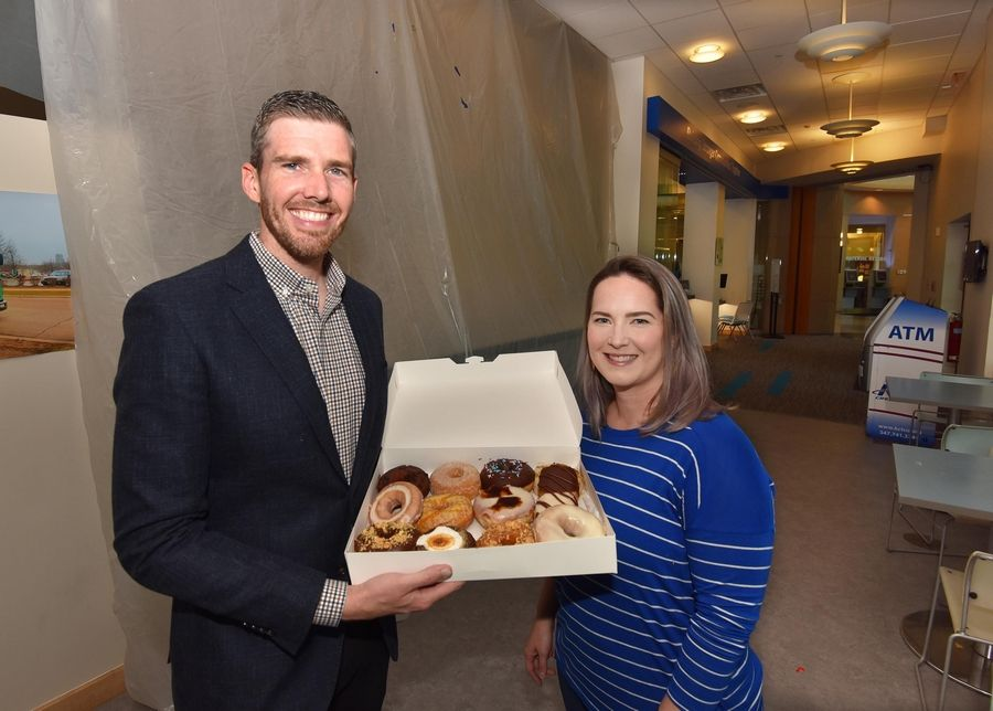 John and Allison Reno, who own Craft Donuts + Coffee in West Dundee and Des Plaines, are the new operators of the cafe inside Gail Borden Public Library in Elgin. They hope to open in mid-August.