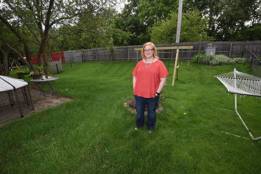 South Elgin trustees shut down the idea of allowing backyard chickens during a discussion Monday night after resident Barbara Diepenbrock, pictured here, started a push for that.