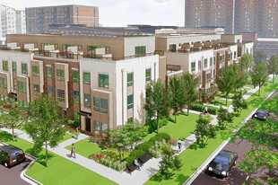 The Sigwalt 16 project, which calls for 16 townhouses on the southern quarter of vacant Block 425 at Sigwalt Street and Chestnut Avenue in downtown Arlington Heights, was approved Monday by the village board.