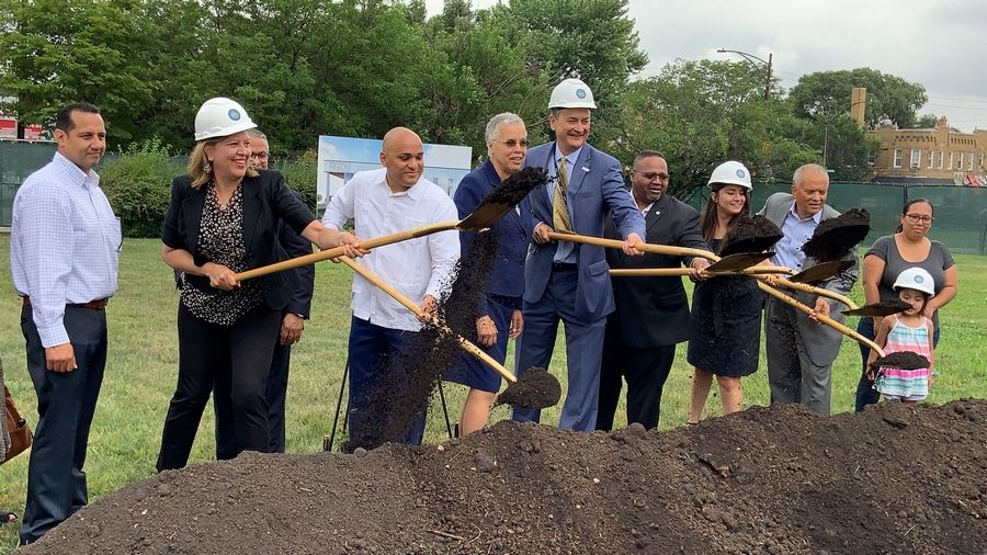 Cook County Health breaks ground on its new Hanson Park Health Center.Cook County Health