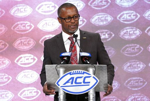 Florida State head coach Willie Taggart speaks during the Atlantic Coast Conference NCAA college football media day in Charlotte, N.C., Wednesday, July 17, 2019.