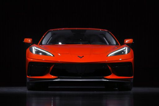 The Latest: Engine moved from front to middle on new 'Vette