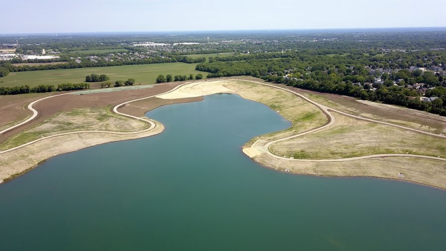 Plans for the restoration of the 190-acre former Meyer-Lafarge gravel pit, northeast of Route 31 and Klasen Road, include trails, paths, park and fishing areas. The village of Cary will soon assume ownership of the property.