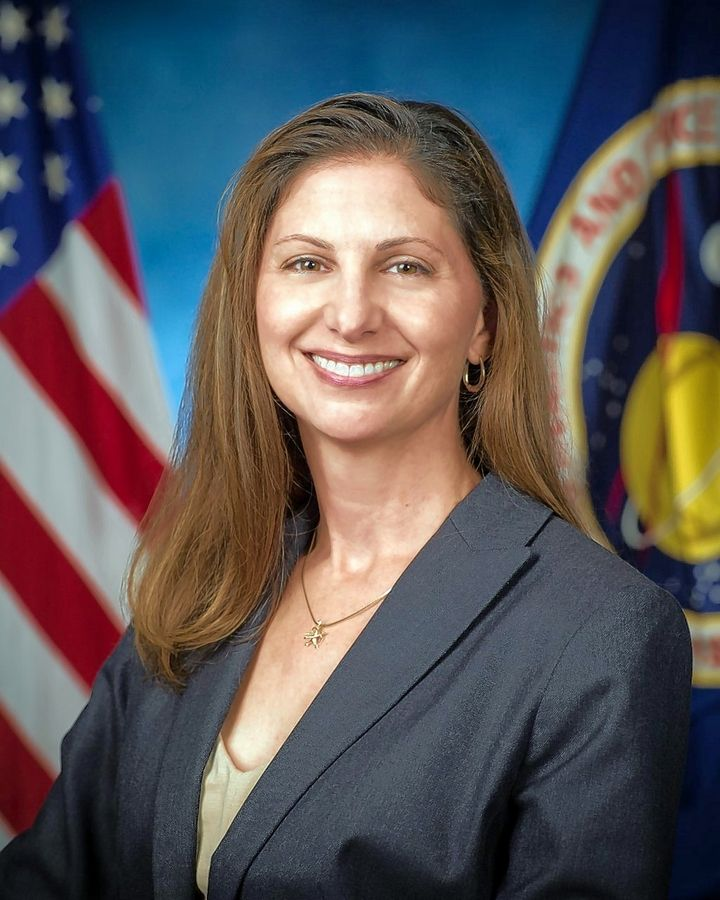 A NASA director working to improve and maintain crew health and performance, Catherine Koerner spent 17 years in Mission Control and worked as flight director for Space Shuttle and International Space Station missions. She grew up in Schaumburg as the daughter of former Mayor Al Larson and Nancy Larson.