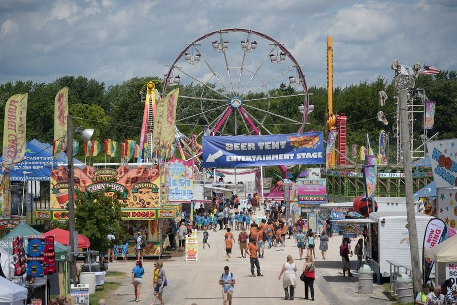 The DuPage County Fair returns this week to Wheaton.