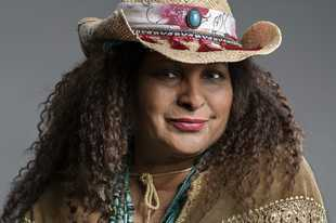 "Pam Grier celebrates turning 70 and the return of her ABC sitcom ""Bless This Mess"" in September."