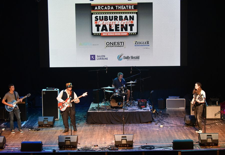 The Recall, a band with members from Wheaton and Glen Ellyn, is a Top 10 finalist of Suburban Chicago's Got Talent for 2019.