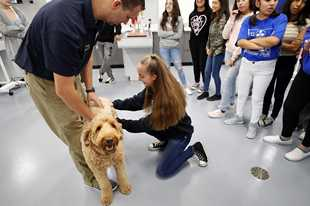 Burlington-based Central Unit District 301 launched the state's first veterinary program at the high school level last school year. Housed at Central High School, the program is growing in enrollment with students from Elgin Area School District U-46 and Algonquin-based Community Unit District 300 taking classes there this fall.