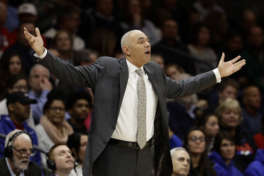 DePaul head coach Dave Leitao has been suspended for the first three games of the regular season.