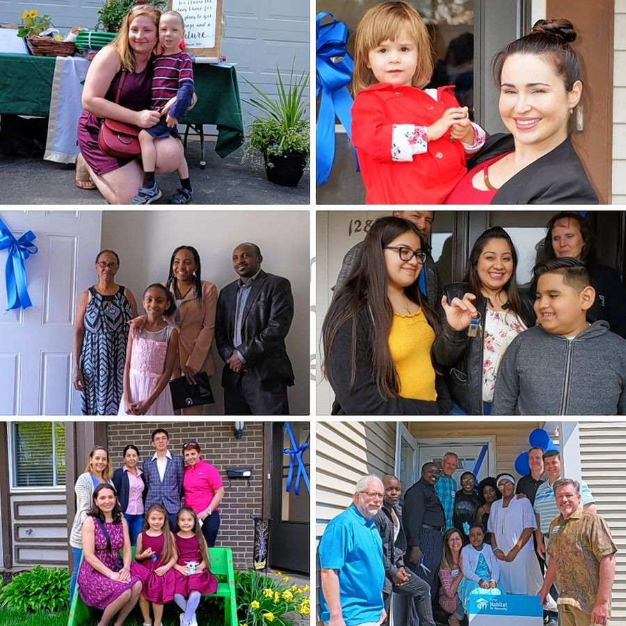 In the last fiscal year, six families partnered with DuPage Habitat for Humanity to build or renovate a house to achieve their dream of homeownership.