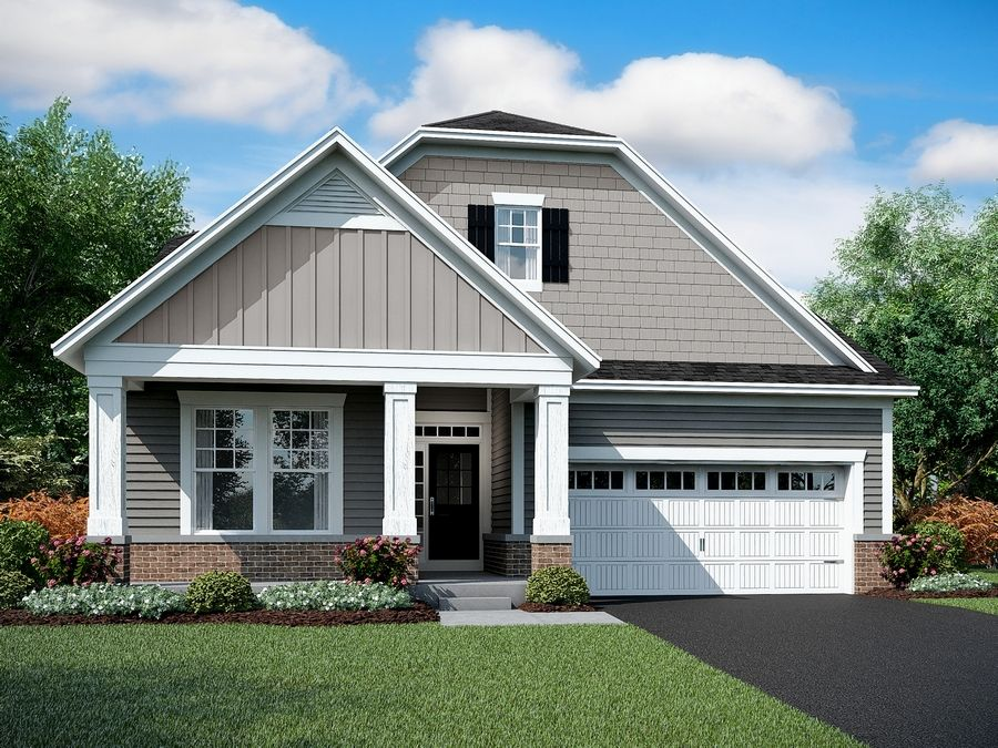 M/I Homes has five new open-concept ranch home designs available at Wentworth, located near Kemper Lakes Golf Club in Kildeer.
