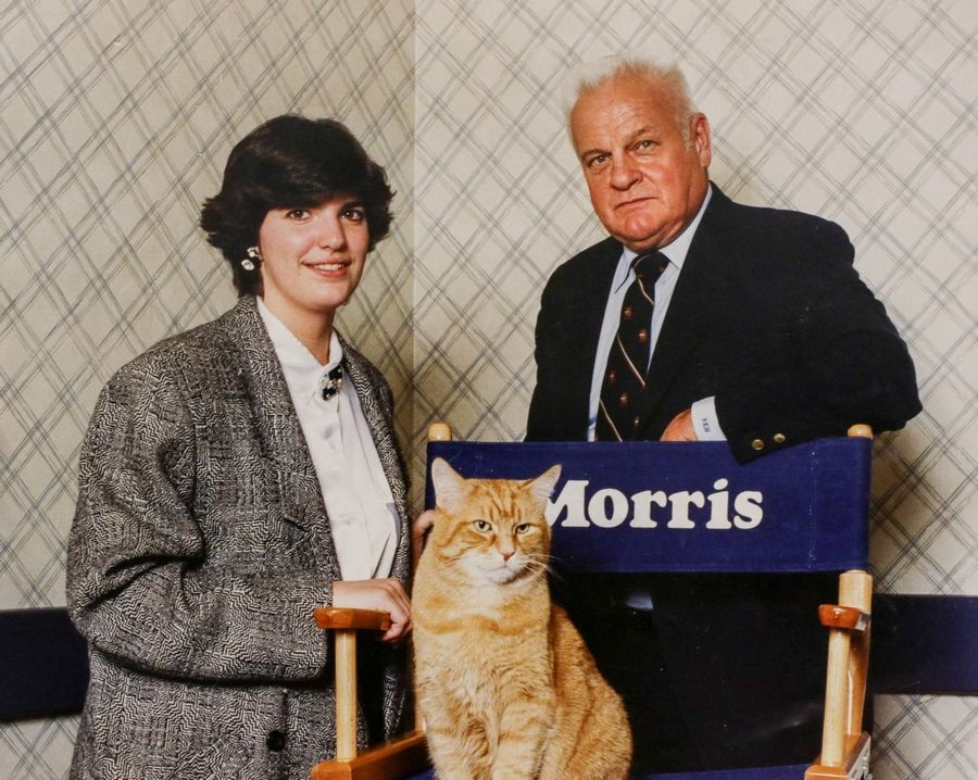 Her public relations job gave Jennifer Petterson the chance to travel with the third generation of Morris the Cat and his handler, Bob Martwick of Lombard.