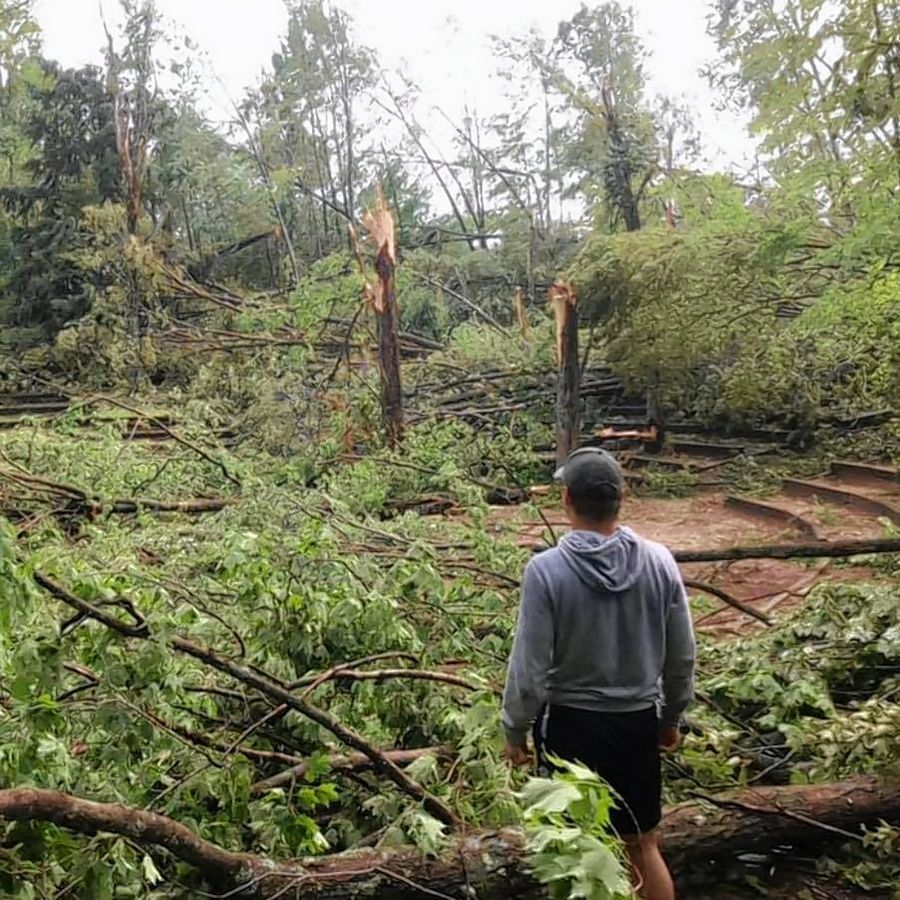 Boy Scout camp run by Lake County group ravaged by storm