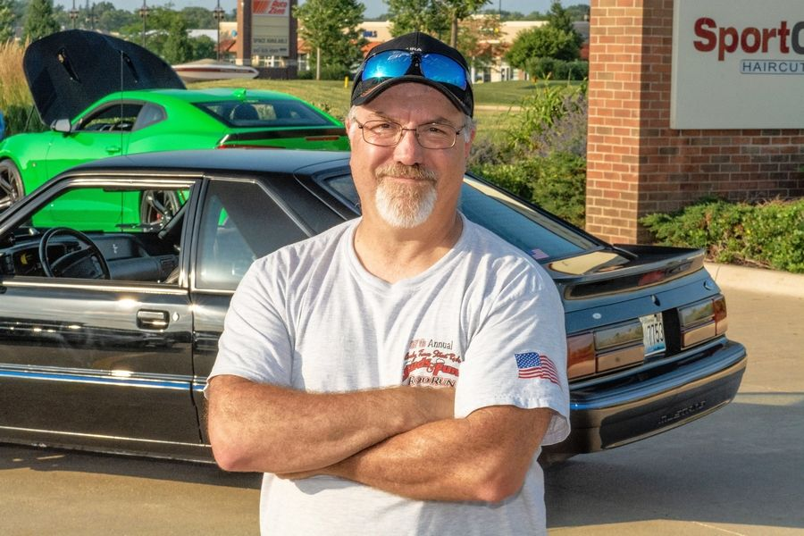 Joe Sepanik of Hampshire has quite a story to tell about the life of his 1993 Mustang.