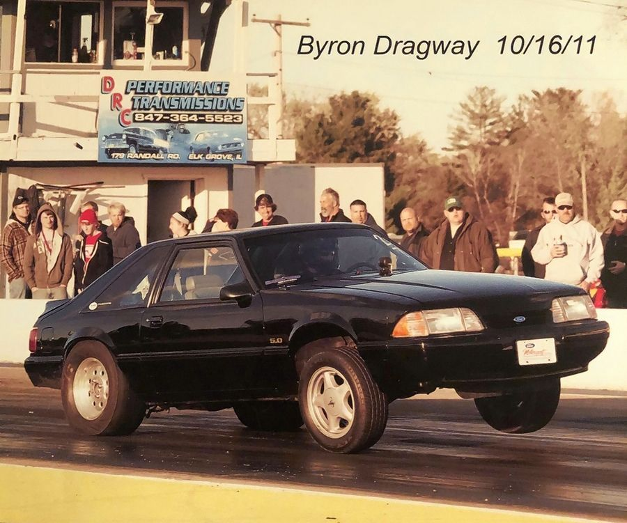 It was the sound of the dragsters at Byron Dragway that lured Joe Sepanik to modify his 1993 Mustang for the race track.