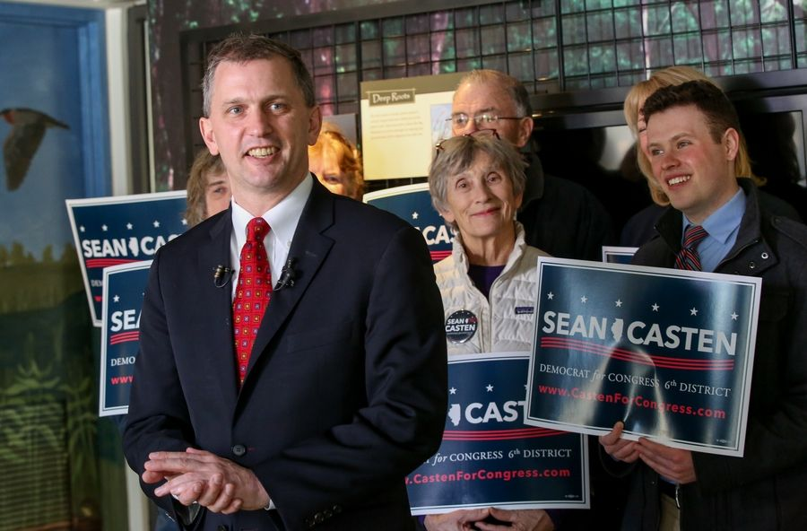 After supporters sent Democrat Sean Casten to the U.S. House representing the 6th District, he now is seeking to retain his seat in the 2020 election.